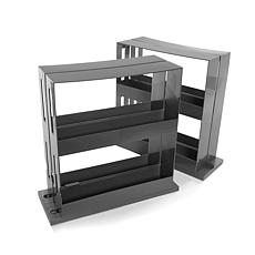StoreSmith Swivel Storage Rack Set of 2