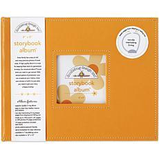 "Storybook Album 8"" x 8"" - Tangerine"