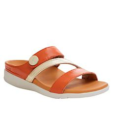 Strive Azore Leather Z-Strap Orthotic Sandal