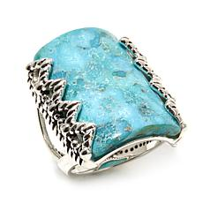 Studio Barse Sterling Silver Turquoise Rectangular Ring