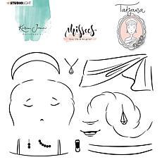 Studio Light Karin Joan Clear Stamp Tatjana Missees Collection No. 06