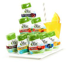 Stur All-Natural Water Enhancer Variety 8-pack