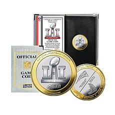 Super Bowl LI Official Two-Tone Flip Coin