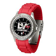 Super Bowl LV Champs Women's Sparkle Series Watch - Bucs