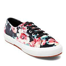 Superga Classic Floral-Print Lace-Up Sneaker