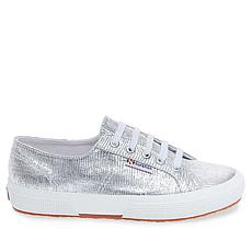 Superga Metallic Lizard-Print Low-Top Sneaker