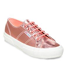 Superga Metallic Mirror Classic Lace-Up Sneaker