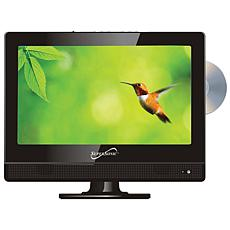 """Supersonic 13.3"""" 720p LED HDTV DVD Combination, AC/DC for RV/Boat"""