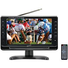 """Supersonic 9"""" TFT Portable Digital LCD TV, AC/DC for RV/Boat"""