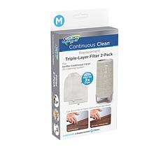 Swiffer Continuous Clean Replacement Filter 2-pack