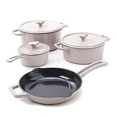 Symon Home 7-piece Enameled Cast Iron Cookware Set