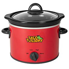 Taco Tuesday 2-Qt. Fiesta Slow Cooker
