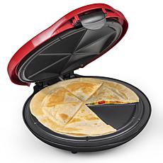 Taco Tuesday Deluxe 6-Wedge Electric Quesadilla Maker