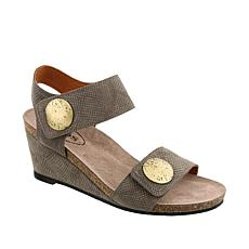 Taos Carousel 2 Leather Wedge Sandal