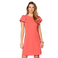 Tash + Sophie Scuba Crepe Dress