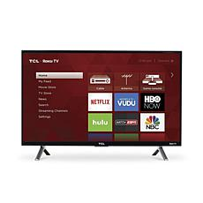 "TCL 28"" Class 3-Series HD LED Roku Smart TV w/HDMI Cord, 2-Yr Warranty"