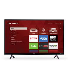 "TCL 3-Series 32"" Smart HDTV with Built-In Roku and 2-Year Warranty"