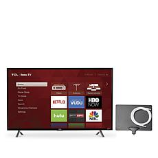 "TCL 49"" 1080p Smart TV with Roku, 2yr Warranty, Antenna and HDMI Cable"