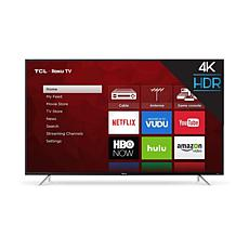 "TCL 65"" S-Series 4K UHD LED Roku Smart TV w/HDMI Cord, 2-Year Warranty"