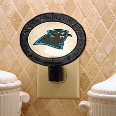 Team Glass Nightlight - Carolina Panthers