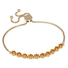 Technibond® Adjustable Citrine Bracelet