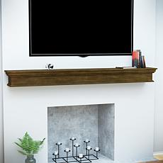 Telles Floating Mantel Wall Shelf