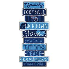 """Tennessee Titans Celebrations Stack 24"""" Sign"""