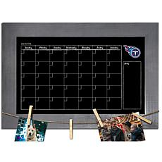 Tennessee Titans Monthly Chalkboard with frame & clothespins 11x19 ...