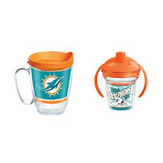 Tervis NFL Miami Dolphins Legen Coffee Mug & Born A Fan Sippy Cup