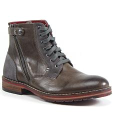 Testosterone Shoes Ball of Fire Men's Lace Up Leather Boot