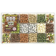 The Beadery Bead Extravaganza Bead Box Kit 21.5 oz. - Camo and Skulls
