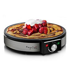 The MegaChef Nonstick Crepe and Pancake Maker Breakfast Griddle