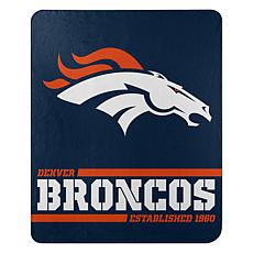 The Northwest Company Officially Licensed NFL Broncos Split Wide Throw