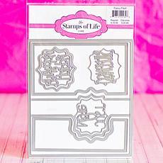 The Stamps of Life Fancy Frame Flip-its Die Set