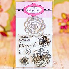 The Stamps of Life Flowers That Wow Die Set