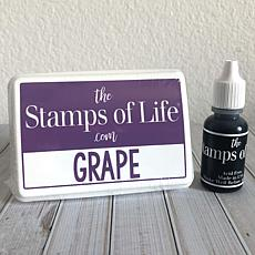 The Stamps of Life Ink Pad and Refill - Grape