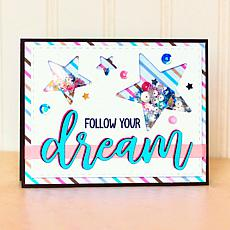 The Stamps of Life Statement Dream Stamp and Die Combo Pack