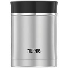 Thermos 16-oz. Sipp Stainless Steel Food Jar (Black)