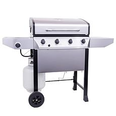 Thermos Stainless Steel 4-Burner Propane Gas Grill