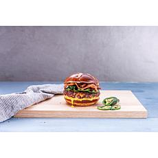 Thomas Farms Butchery 12-ct 5oz Jalapeno & Cheddar Black Angus Burgers