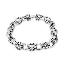 Tiffany Kay Studio Sterling Silver Purl Knit Link Bracelet