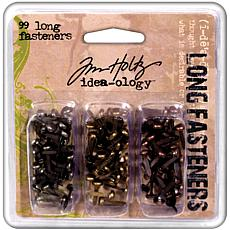 Tim Holtz Idea-Ology .4375 Long Fasteners