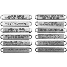 Tim Holtz Idea-Ology Metal Word Bands - Life