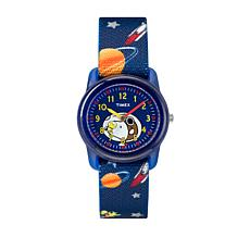 Timex Kid's Peanuts Snoopy Outer Space Strap Watch
