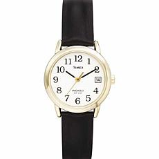 Timex Women's Classic EZ-Reader Black Strap Watch