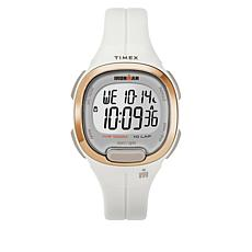 Timex Women's Ironman Transit Essential 10 White Resin Strap Watch