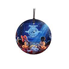 TK Disney 90 Years of Mickey Hanging Glass StarFire Print