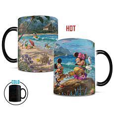 TK Disney Mickey and Minnie in Hawaii Heat-Sensitive Morphing Mug