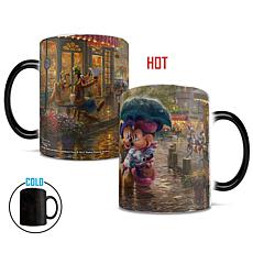 TK Disney Mickey and Minnie in Paris Heat-Sensitive Morphing Mug