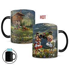 TK Disney Mickey and Minnie in the Alps Heat-Sensitive Morphing Mug